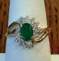 Emerald&DiamondRing